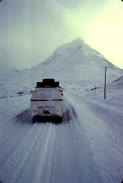 Crossing the Chilkat Pass in 1975
