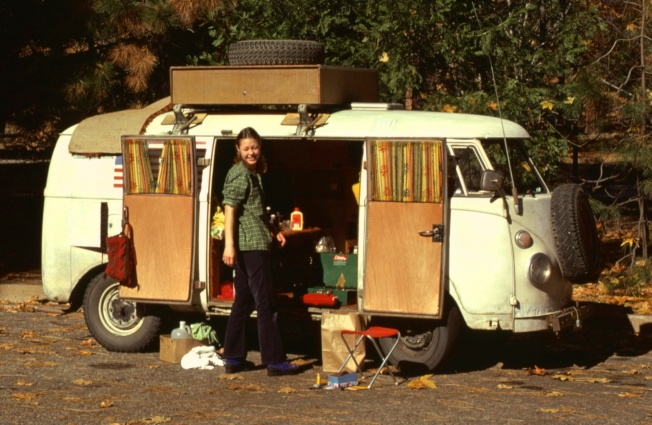 Camp 4 Parking Lot Yosemite 1975