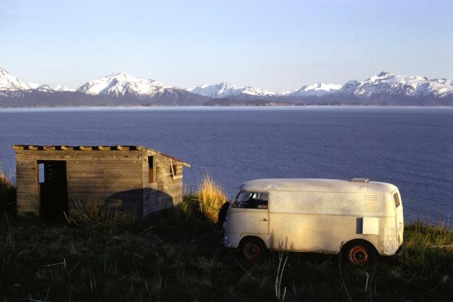 Camping in Homer Alaska 1970's