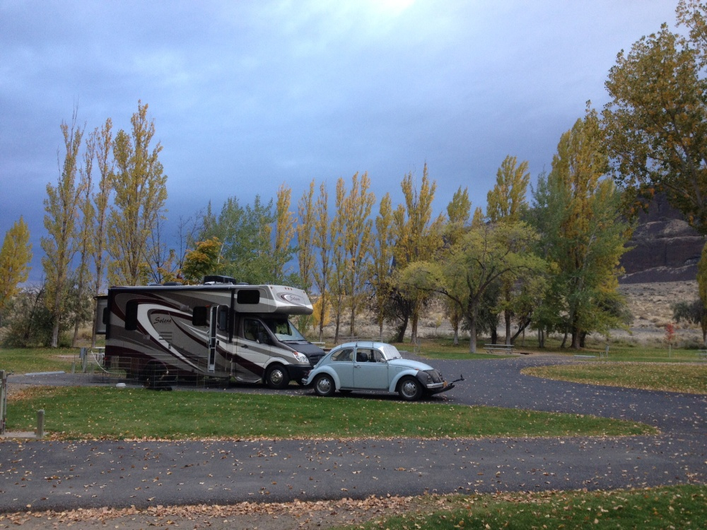 Steamboat Campground was virtually ours