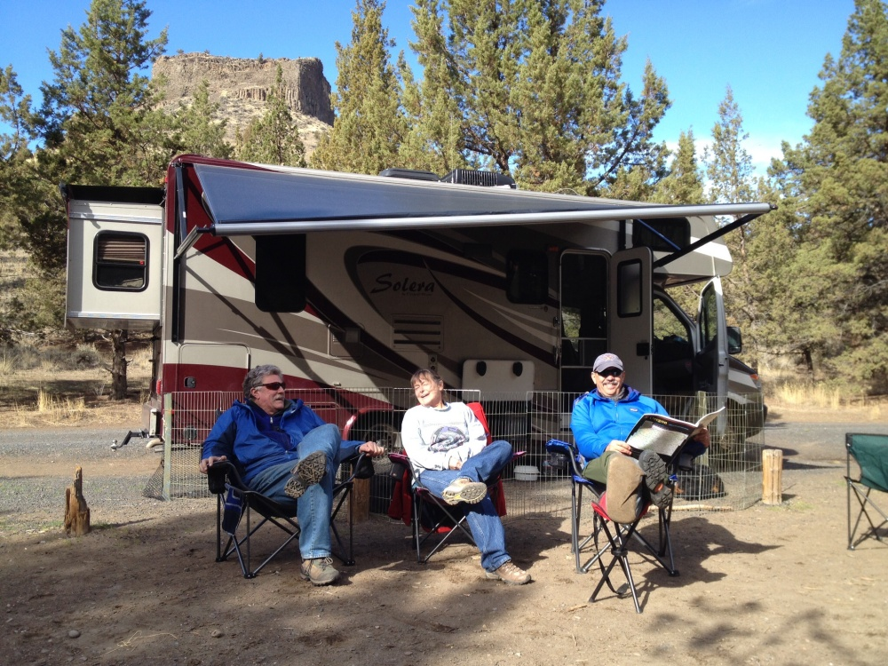 Camping Along the Crooked River