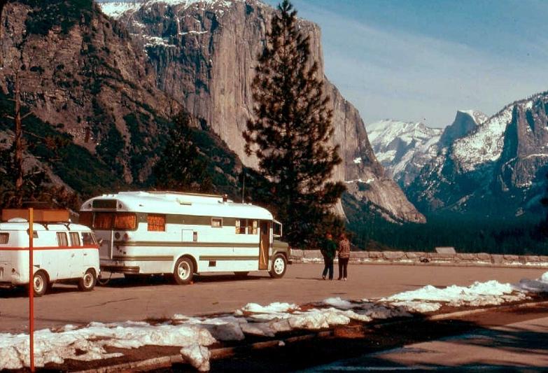 1958 Bus Towing 1958 VW Van 1976