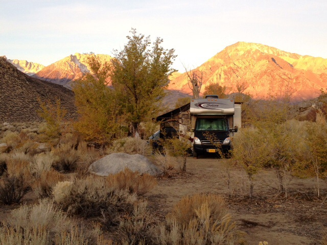Our Camp Along McGee Creek