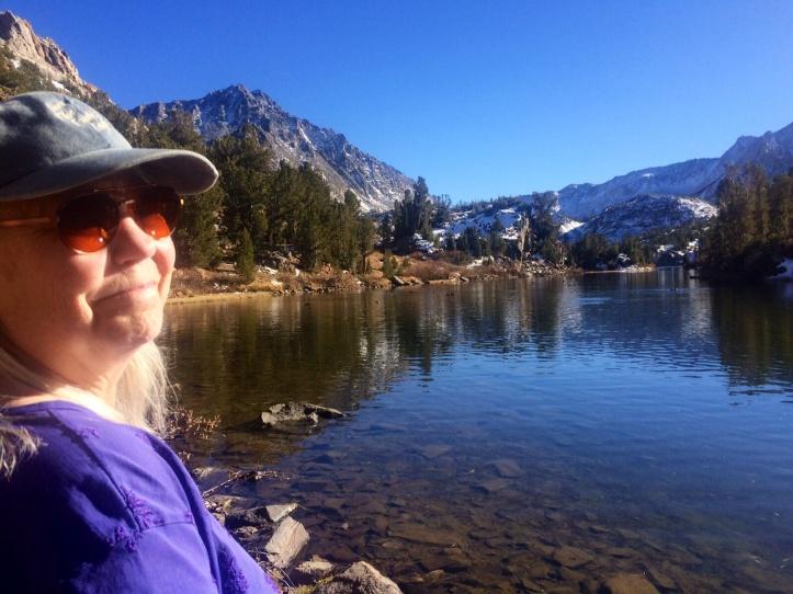 Denise Enjoys Long Lake