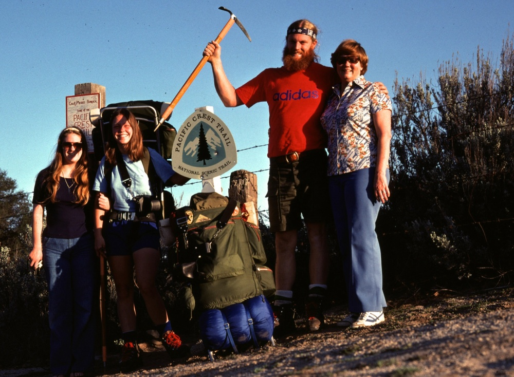 My Family Delivers Us To The Mexico / California Border 1976