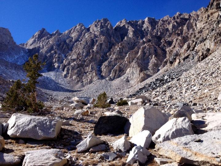 Basin Mt. Tungsten Mine Site at 10,700 ft