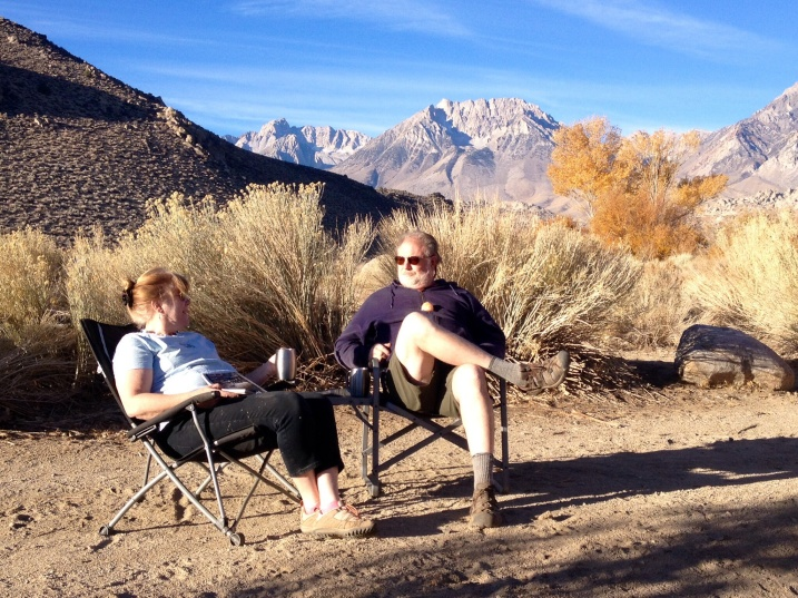Early Morning Coffee in the Buttermilks