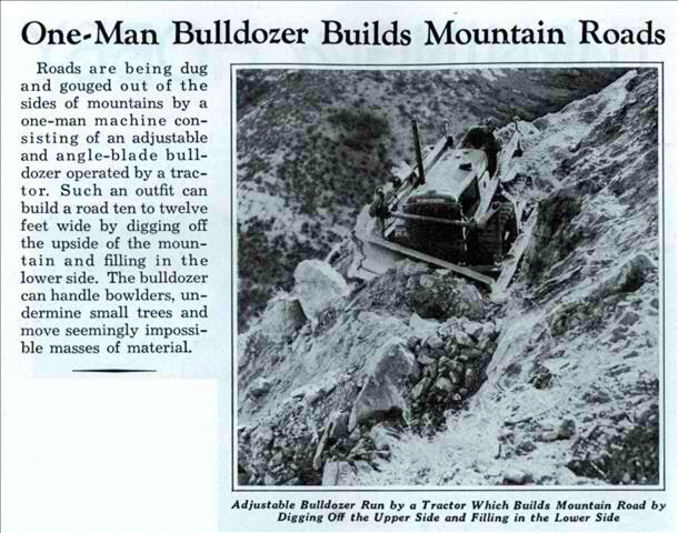 A Young Brad Ebel 's First Time On the Dozer 1930