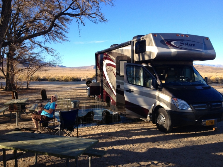 Our Taboose Creek Camp