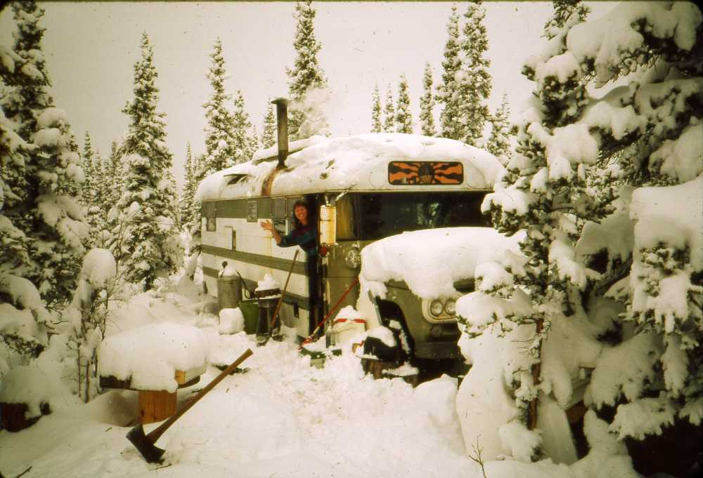 Living in a Converted School Bus of 18 Years Denali 1980's