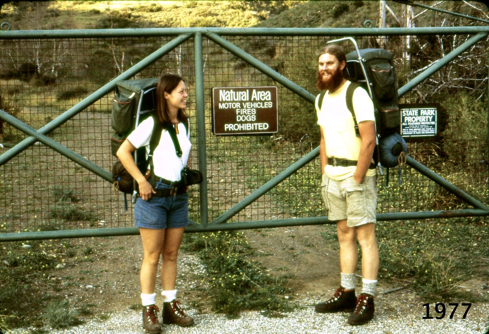 Hiking the Pacific Crest Trail 1977