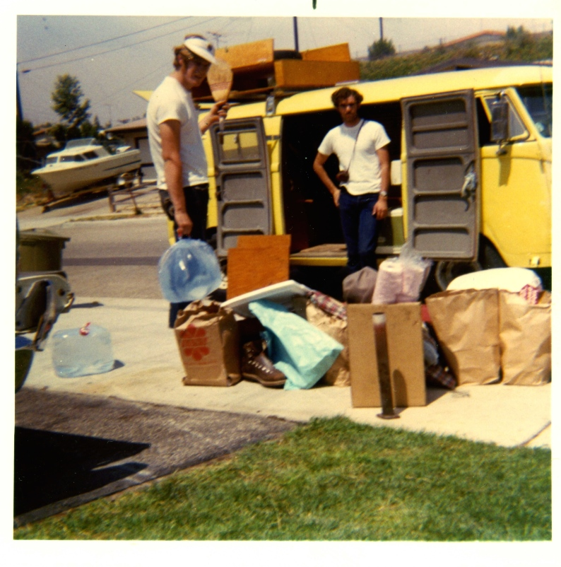 Departure For Around America Tour 1969