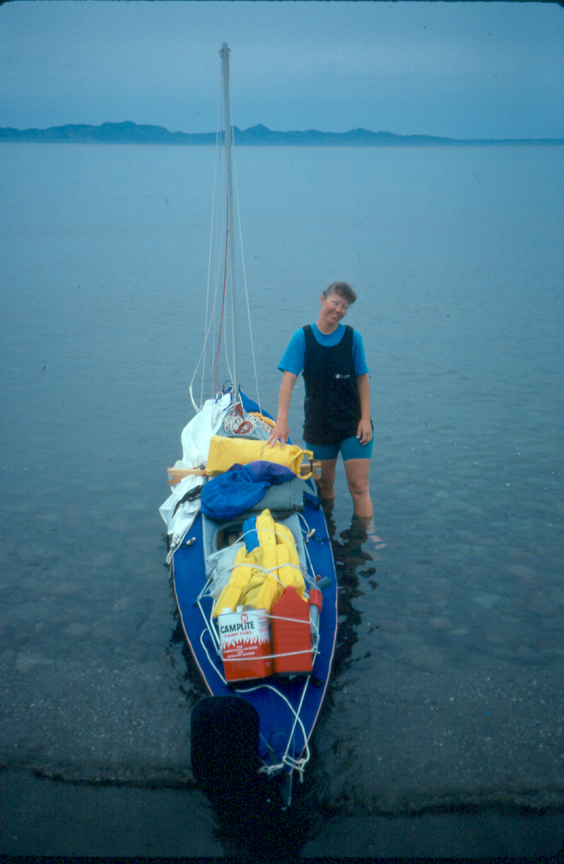 Sea Kayaking the Sea Of Cortez 1991