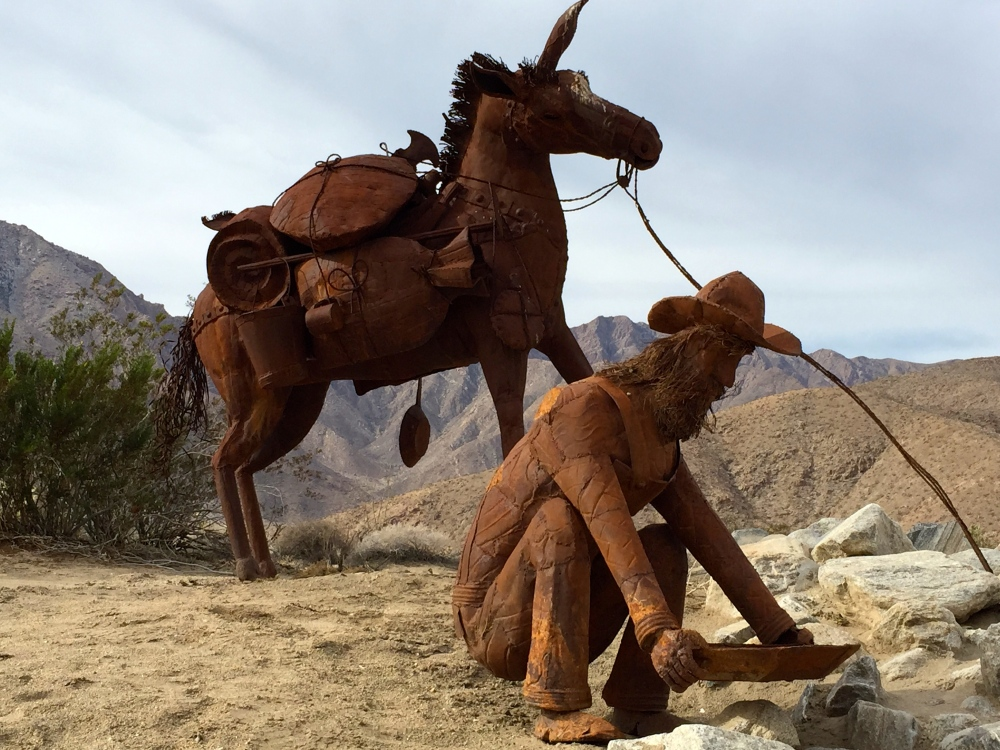 Metal Art Near Borrego Springs By Ricardo Breceda