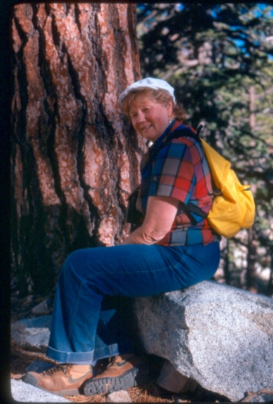 Traversing the San Jacinto Wilderness 1980's