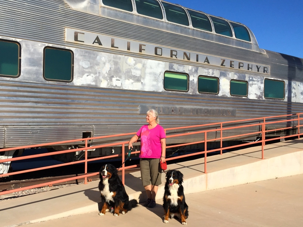Old California Zephyr Club Car in Glendale AZ