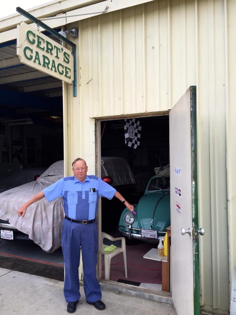 A Visit To Gerts Garage