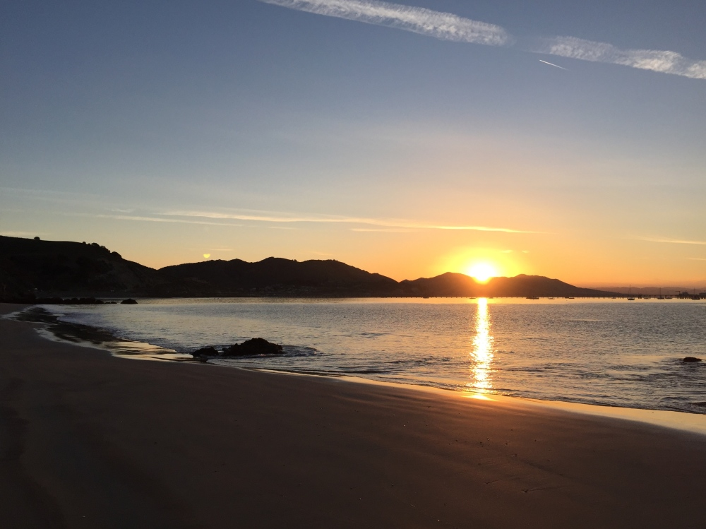 Sunrise At Avila Beach