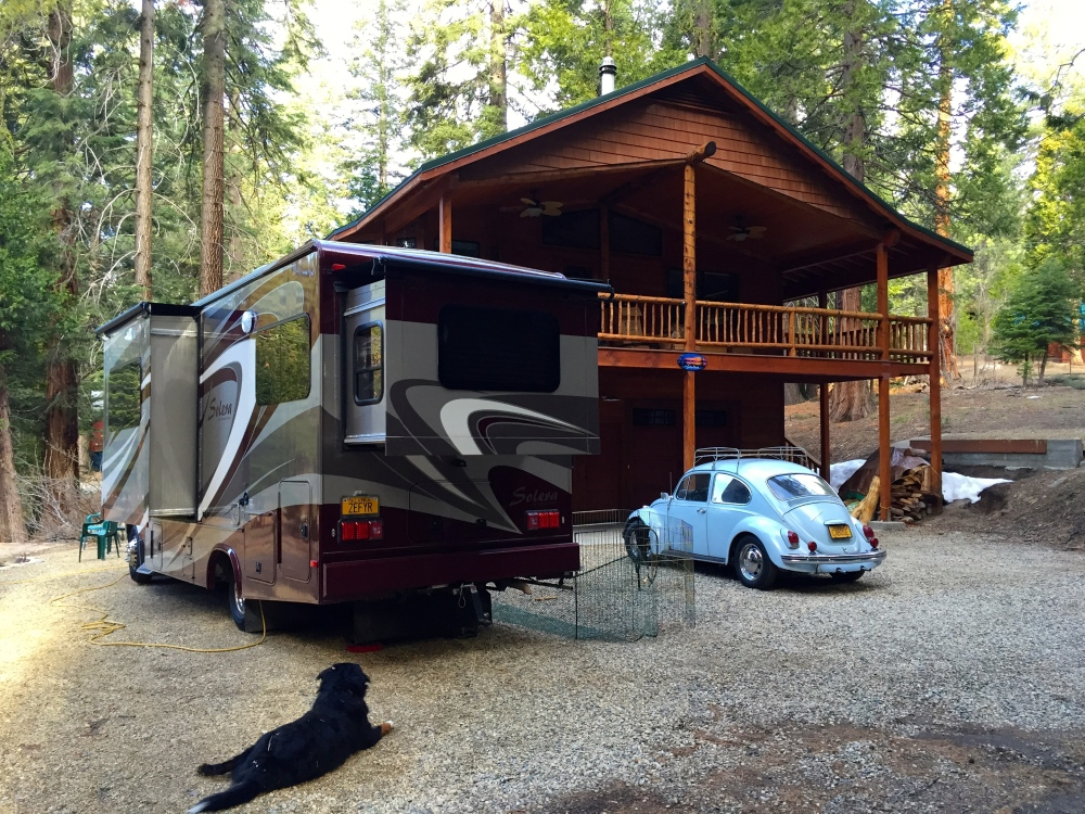 Dutch's New Base Camp in Sequoia National Park