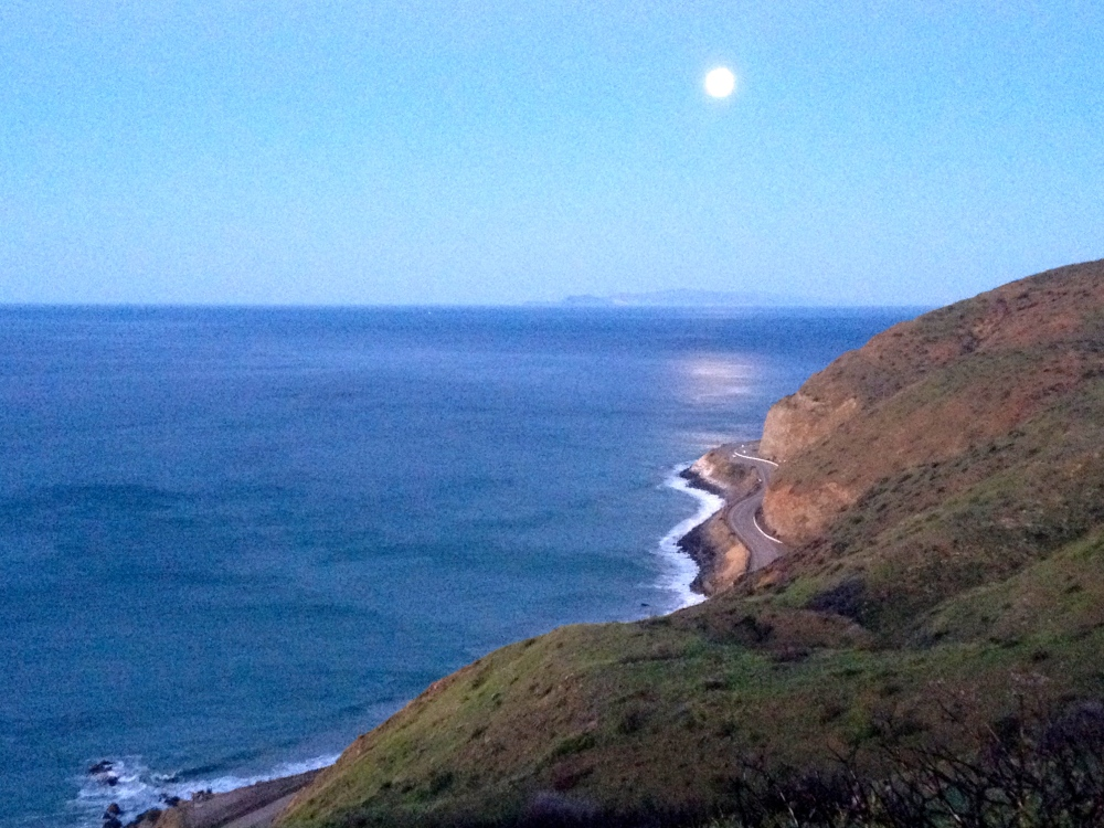 5:00am Along Hwy 1 Near Point Mugu