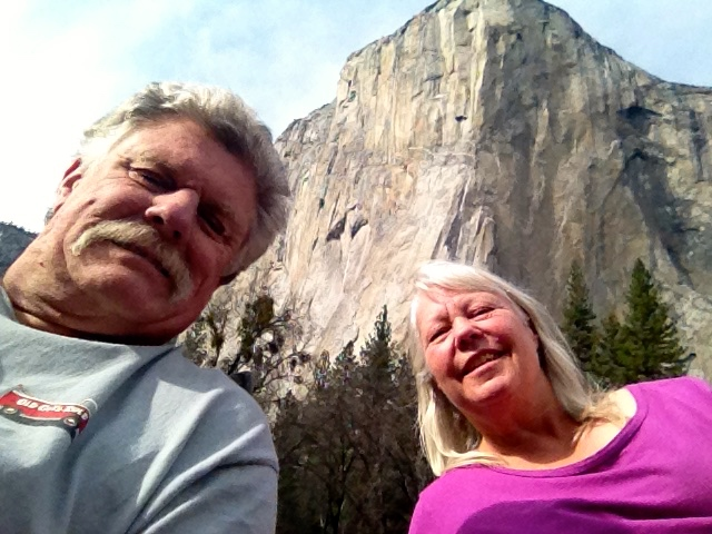 Selfie In El Cap Meadow