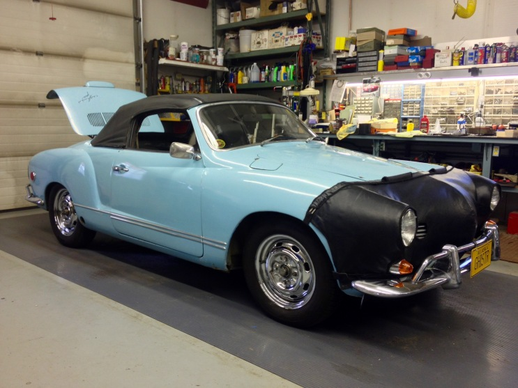 1969 VW Karmann Ghia With 1964 356 Porsche Engine Ready to Go