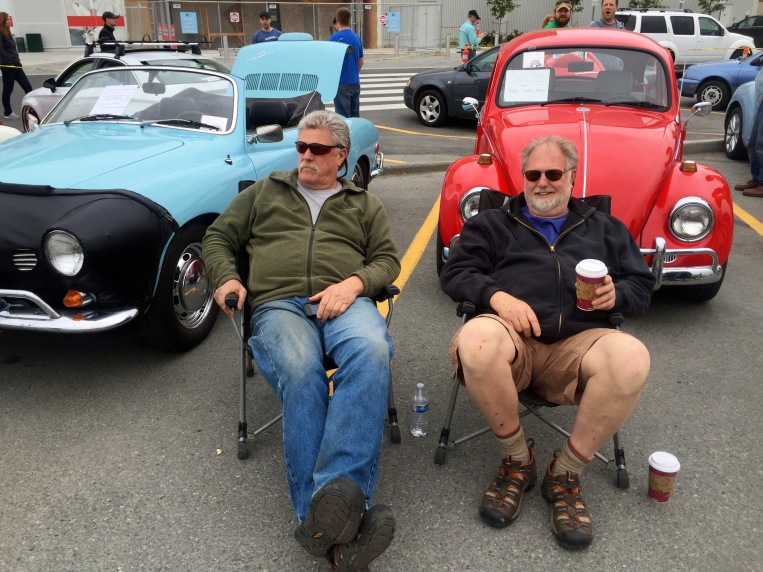 Hanging With Brother Sam At The VW Family Reunion Anchorage