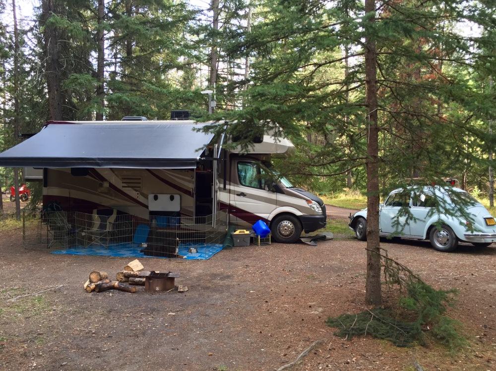 Whistle Campground Jasper