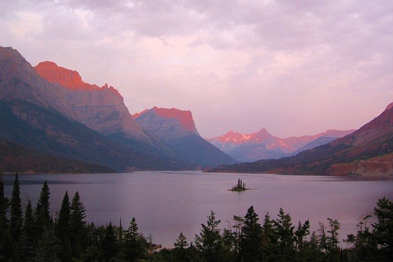 St Mary Lake Glacier NP
