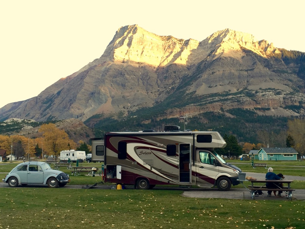 Campground Waterton Park