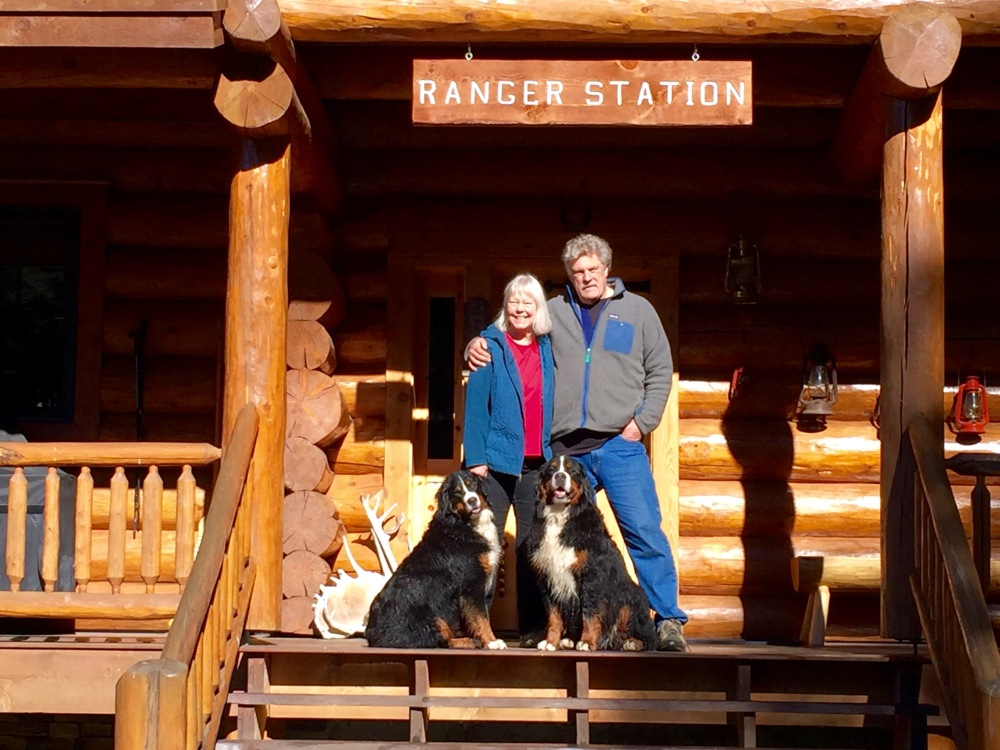 Front Porch Of Habecker Ranger Station