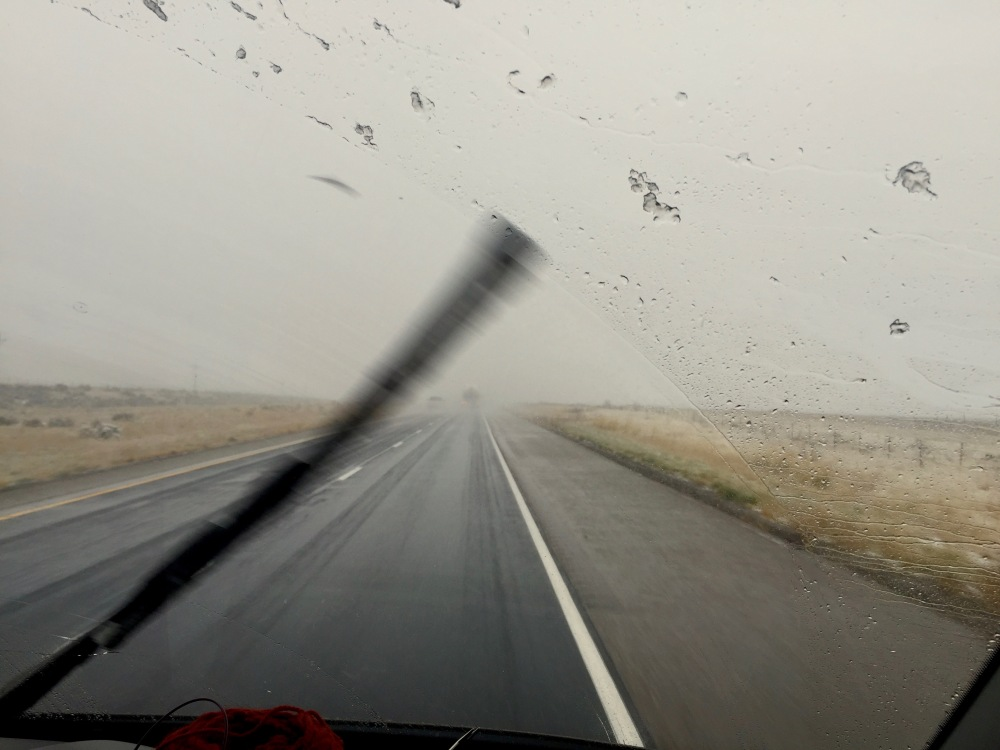 Action Photo Of Us Trying To Beat The Storm On I70