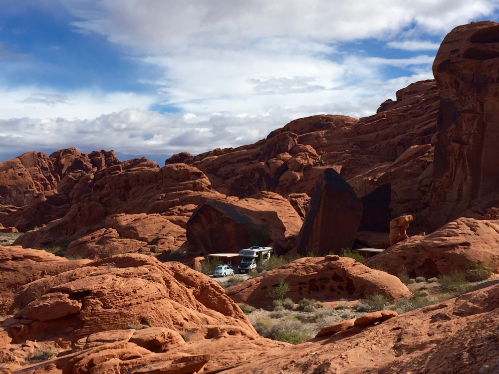 Our Camp Amongst The Red Rocks