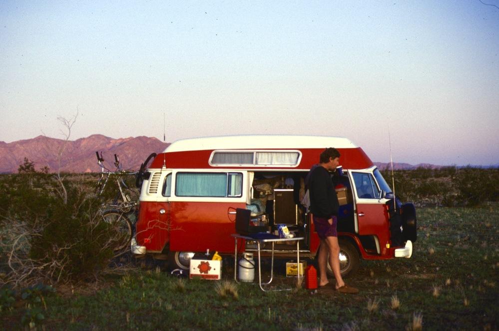 """Mid 80""""s Desert Camp"""