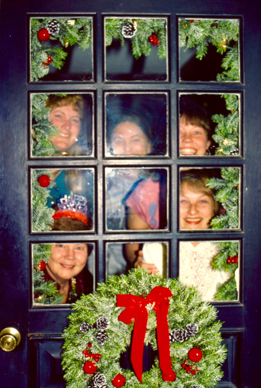 Taylor Family Front Door 1980's