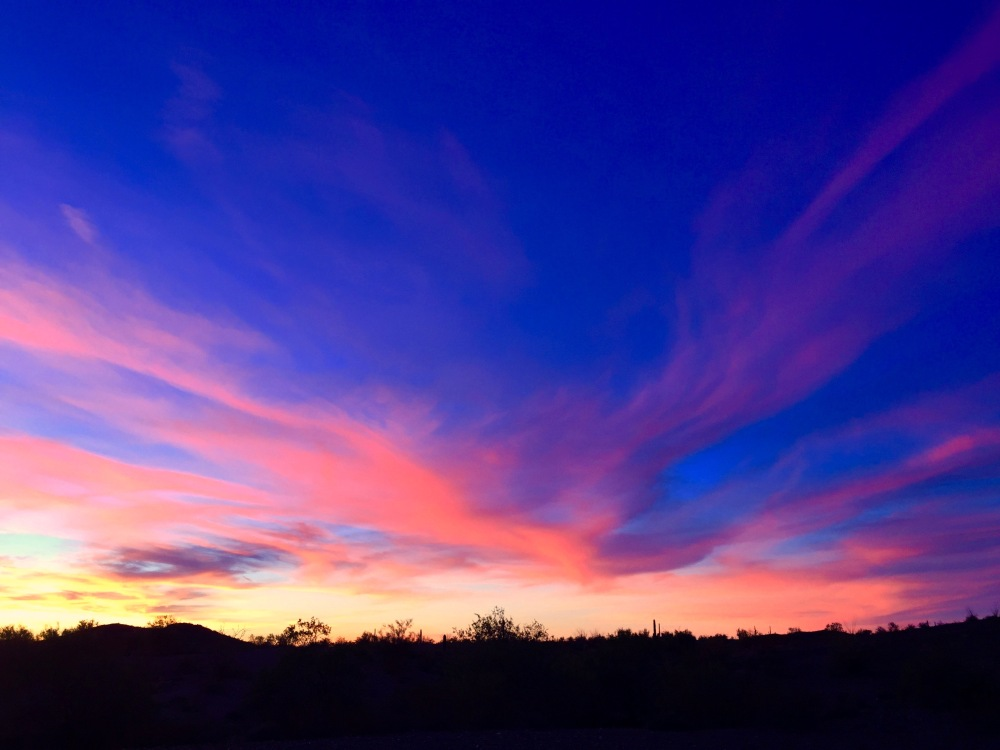 Typical Desert Sunset
