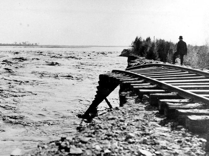 1905 Flood That Re-Established the Lake