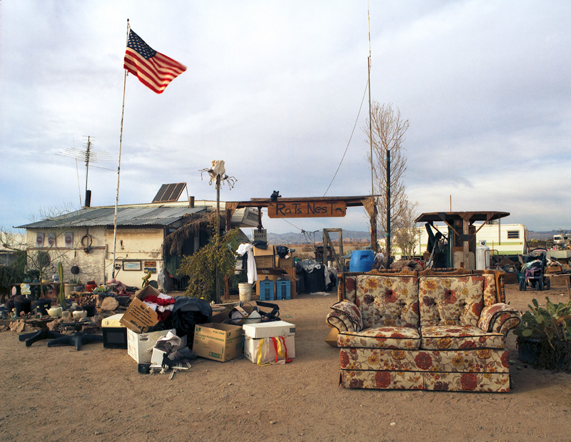 A Typical Slab City Home