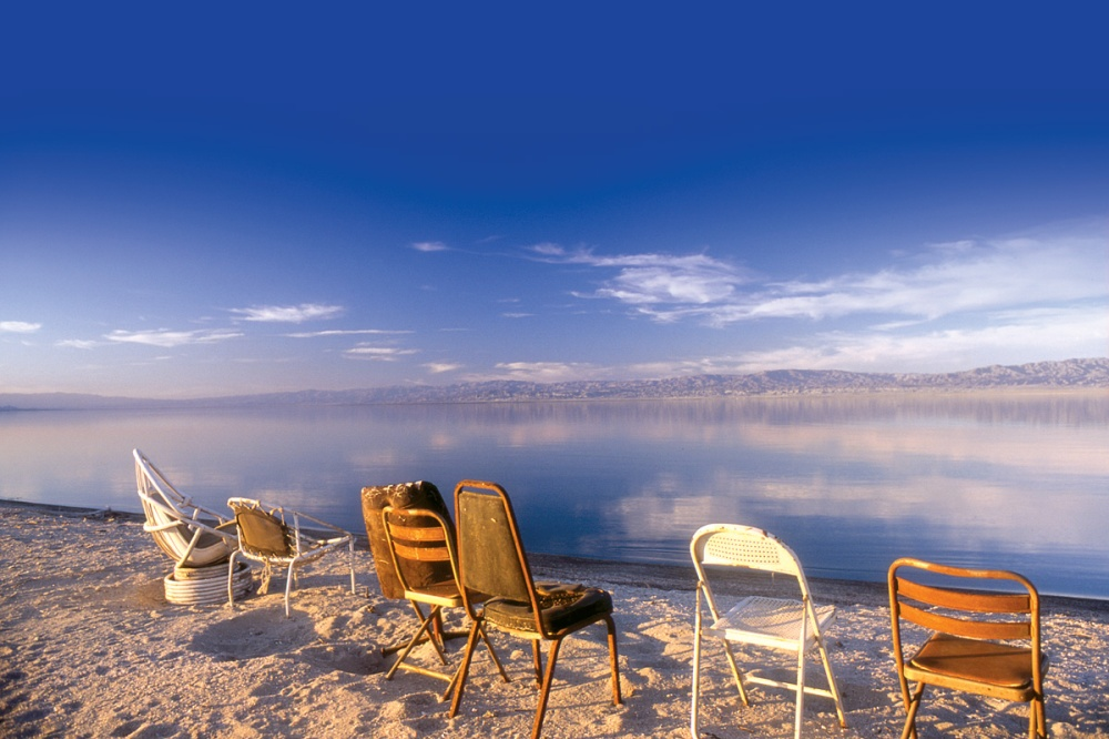 A Salton Sea Beach