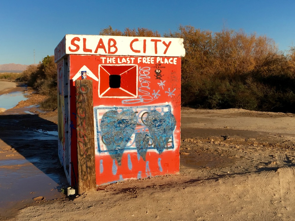 Slab City Entrance Gate