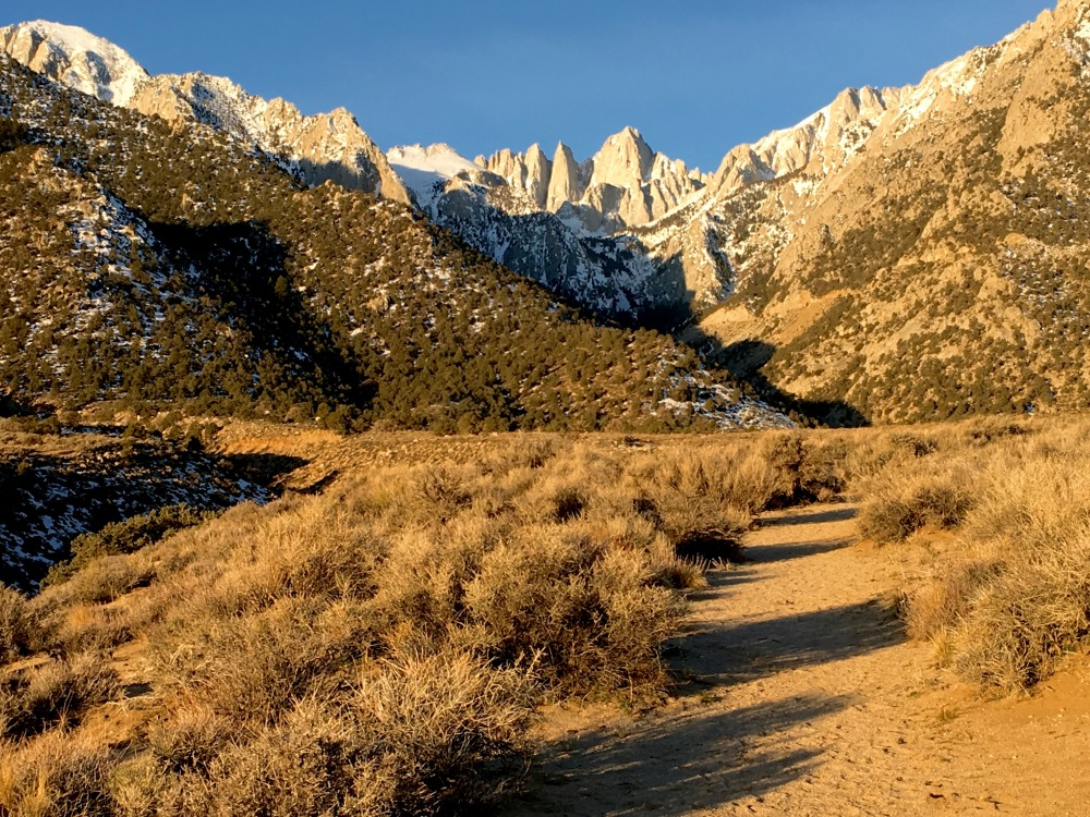 Early Morning View Of Mt. Whitney