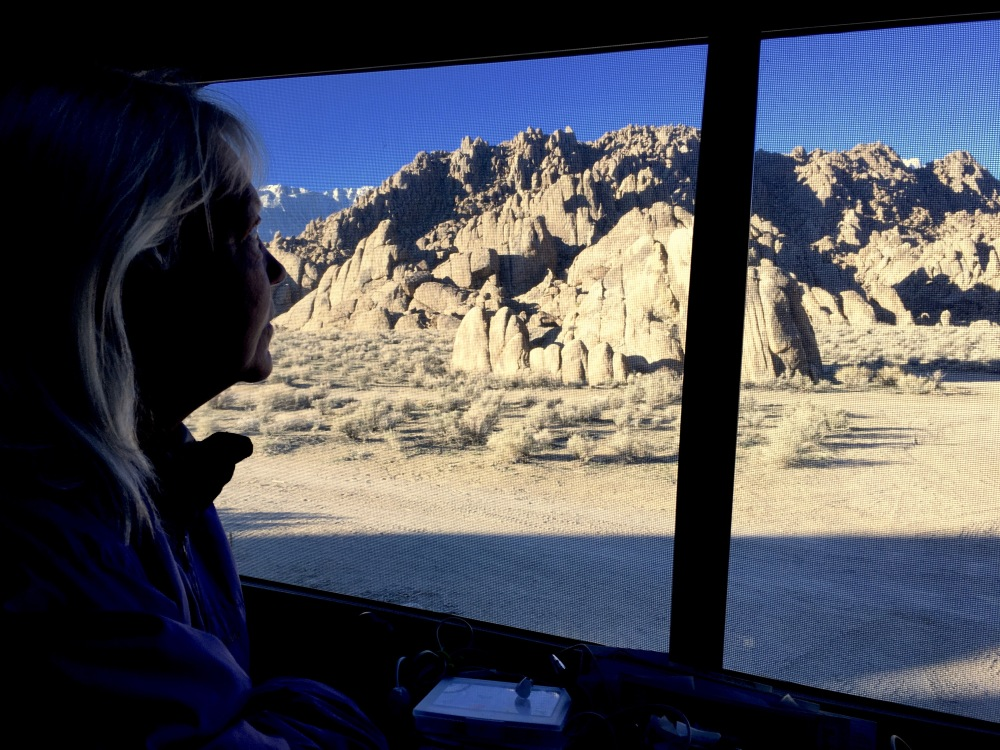 Arrival In The Alabama Hills