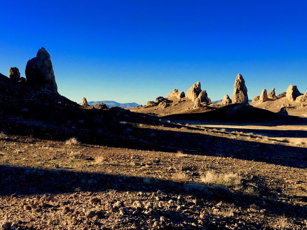 The Trona Pinnacles