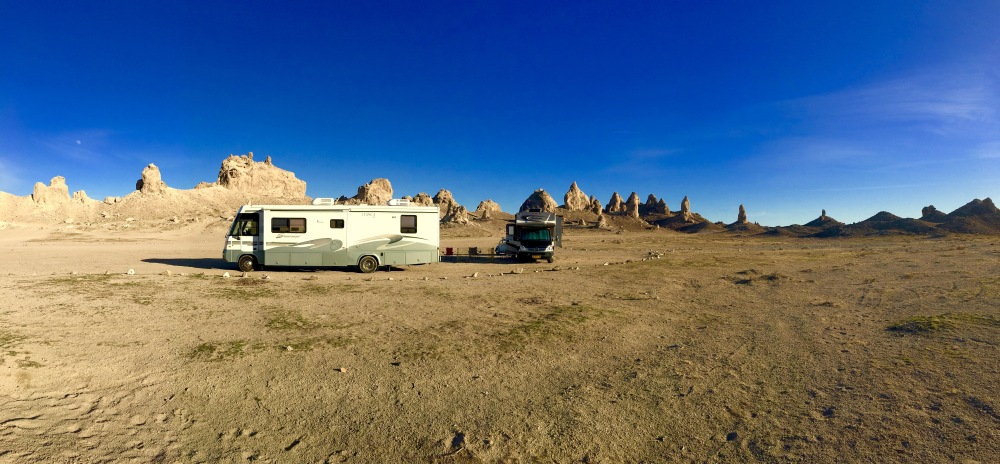 Our Camp in the Pinnacles