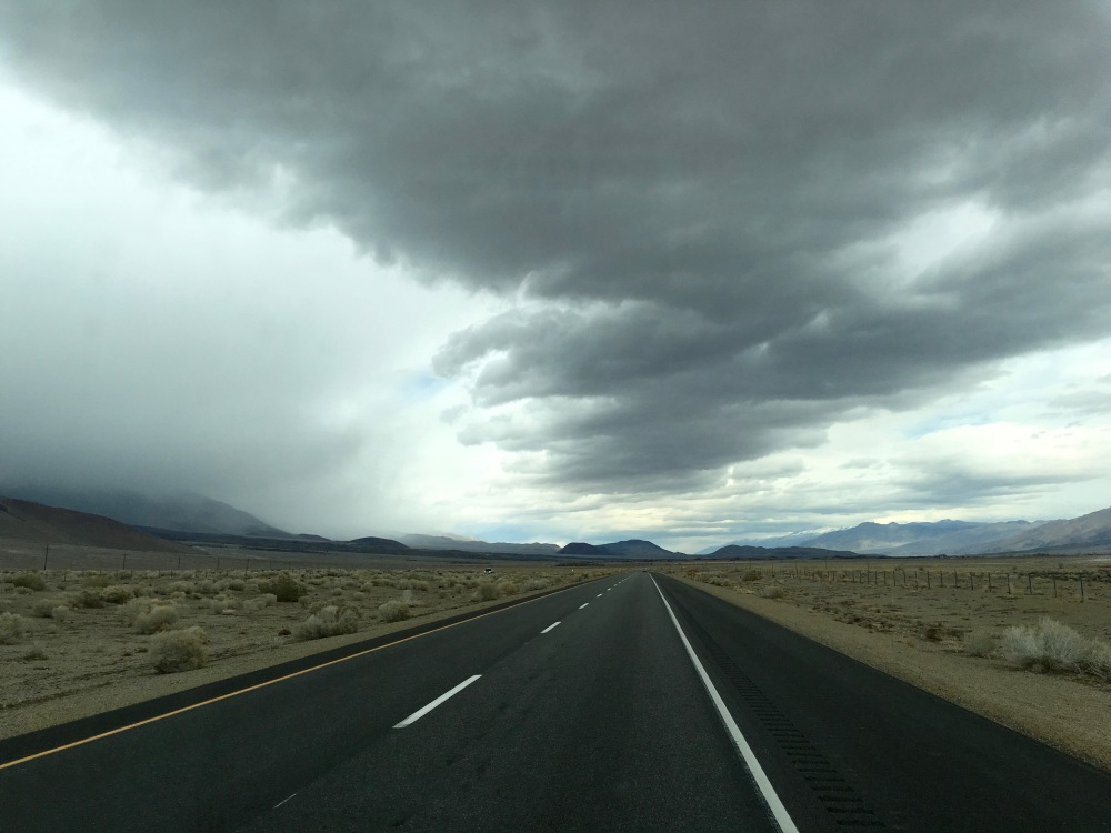 Southbound Along Hwy. 395