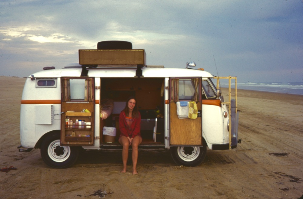 Camped On Pismo Beach 1974