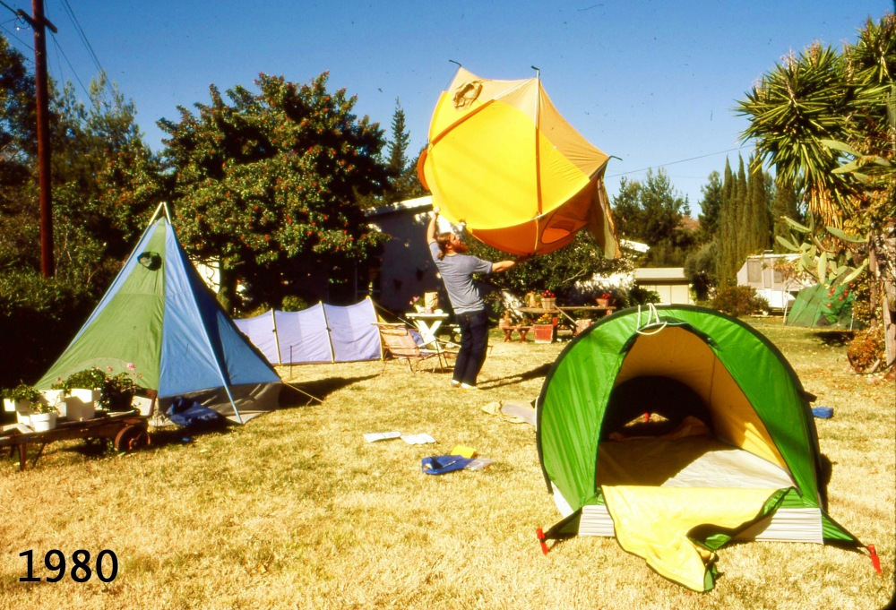 Basecamp In The Folks Backyard 1980