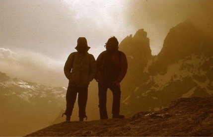 My Brother And I On The Summit of Craig 1973