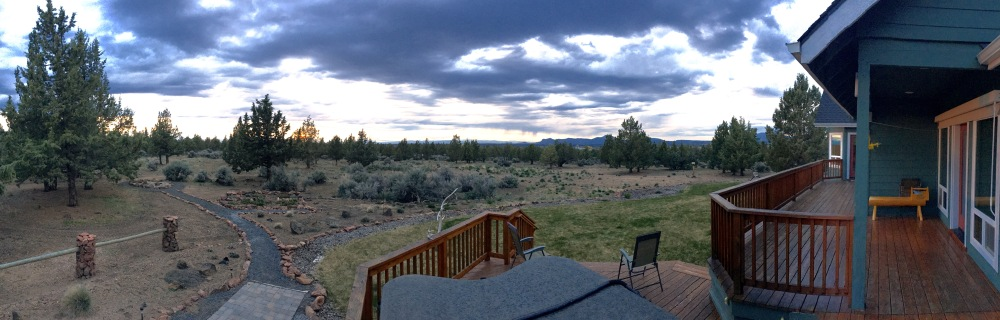 View From The Back Deck