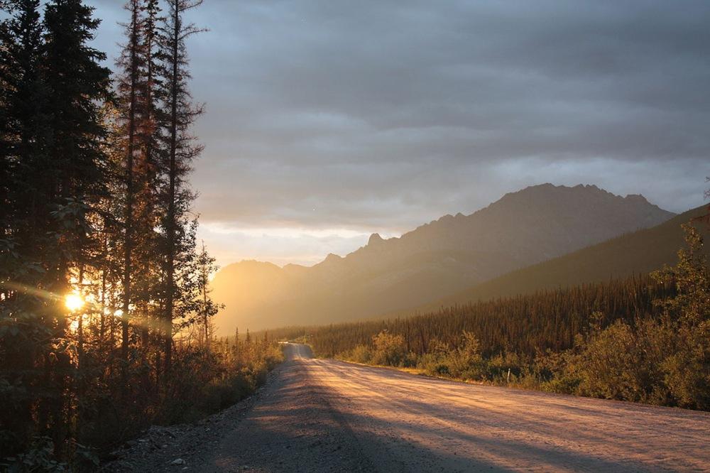 Alaska Hwy Near Whitehorse